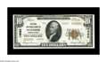 National Bank Notes:Pennsylvania, Windber, PA - $10 1929 Ty. 2 Citizens NB Ch. # 14082. A truly rarenote from a truly rare 14000 charter bank which issue...