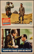 """Movie Posters:War, Across the Pacific & Other Lot (Warner Brothers, 1942). LobbyCards (2) (11"""" X 14""""). War.. ... (Total: 2 Items)"""