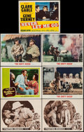 "Movie Posters:War, The Fighting Seabees & Others (Republic, R-1954). Lobby Cards(7) (11"" X 14""). War.. ... (Total: 7 Items)"