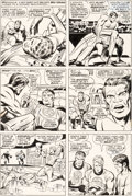 Original Comic Art:Panel Pages, Jack Kirby and Joe Sinnott Fantastic Four #78 Story Page 19Original Art (Marvel, 1968)....
