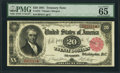 Fr. 375 $20 1891 Treasury Note PMG Gem Uncirculated 65 EPQ