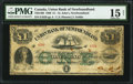 Canadian Currency, St. Johns, NF- Union Bank of Newfoundland £1 1880 Ch. # 750-14-06.....