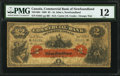 Canadian Currency: , St. Johns, NF- Commercial Bank of Newfoundland $2 Jan. 3, 1888 Ch. # 185-18-04.. ...