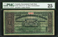 Canadian Currency: , St. John's, NF- Newfoundland Government Cash Note $1 1913-14 Ch. # NF-9d.. ...
