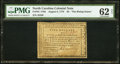 Colonial Notes:North Carolina, North Carolina August 8, 1778 $5 The Rising States PMG Uncirculated62 Net.. ...