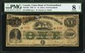 Canadian Currency, St. Johns, NF- Union Bank of Newfoundland £1 Oct 4, 1865 Ch. #750-12-02.. ...