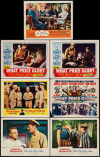 """Mister Roberts & Others Lot (Warner Brothers, 1955). Lobby Cards (7) (11"""" X 14""""). Comedy. ... (Total:..."""