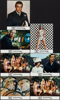 """Movie Posters:James Bond, You Only Live Twice (United Artists, 1967). German Lobby Cards (7)(8"""" X 10""""). James Bond.. ... (Total: 7 Items)"""