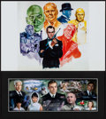 """Movie Posters:James Bond, You Only Live Twice & Other Lot (1990s). Matted Special Presentation Photo (8"""" X 17.75"""") & Reproduction Art Print (12"""" X 18""""... (Total: 2 Items)"""