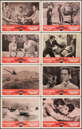 "Movie Posters:James Bond, Dr. No/From Russia with Love Combo (United Artists, R-1965). Lobby Card Set of 8 (11"" X 14""). James Bond.. ... (Total: 8 Items)"