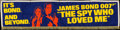 "Movie Posters:James Bond, The Spy Who Loved Me (United Artists, 1977). Cloth Banner (26.25"" X 106.5). James Bond.. ..."