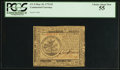 Colonial Notes:Continental Congress Issues, Continental Currency May 10, 1775 $5 PCGS Choice About New 55.. ...