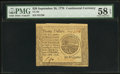 Colonial Notes:Continental Congress Issues, Continental Currency September 26, 1778 $20 PMG Choice About Unc 58EPQ.. ...