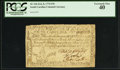 Colonial Notes:South Carolina, South Carolina February 8, 1779 $70 PCGS Extremely Fine 40.. ...