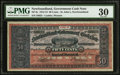 Canadian Currency: , St. John's, NF - Newfoundland Government Cash Note 50¢ 1912-13 Ch.# NF-8c.. ...