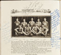 Football Collectibles:Publications, 1927 Arnie Herber Signed Green Bay West High School Yearbook - Earliest Known Herber Exemplar!...