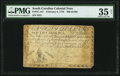 Colonial Notes:South Carolina, South Carolina February 8, 1779 $80 PMG Choice Very Fine 35 Net.....