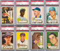 Baseball Cards:Lots, 1952 Topps Baseball PSA EX-MT+ 6.5 and PSA EX-MT 6 Collection (46)....
