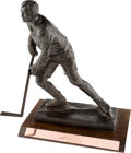 """Hockey Collectibles:Others, 1974 City of Philadelphia Trophy Presented to Andre """"Moose"""" Dupont ...."""