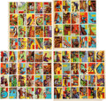 "Non-Sport Cards:Sets, 1957 R714-10 Topps ""Isolation Booth"" Complete Set (88) - As UncutPanels...."