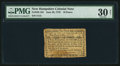 Colonial Notes:New Hampshire, New Hampshire June 28, 1776 10d PMG Very Fine 30 Net.. ...