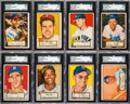 Baseball Cards:Lots, 1952 Topps Baseball (49 Different) & 1953 Bowman Color (7)Cards from The Gary Carter Collection....