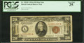Fr. 2305* $20 1934A Hawaii Federal Reserve Star Note. PCGS Very Fine 25