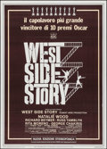 "Movie Posters:Academy Award Winners, West Side Story (United Artists, R-1978). Italian 2 - Fogli (39.25"" X 55""). Academy Award Winners.. ..."