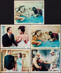 "Movie Posters:James Bond, Dr. No (United Artists, 1962). British Front of House Color Photos (5) (8"" X 10""). James Bond.. ... (Total: 5 Items)"