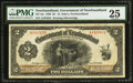 Canadian Currency: , St. John's NF- Government of Newfoundland $2 1920 Ch. # NF-13c.....
