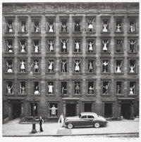 Ormond Gigli (American, b. 1925) Girls in the Window, New York City, 1960 Gelatin silver, printed la