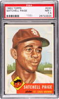 Baseball Cards:Singles (1950-1959), 1953 Topps Satchell Paige #220 PSA NM+ 7.5....