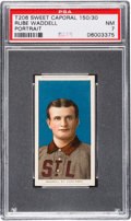 Baseball Cards:Singles (Pre-1930), 1909-11 T206 Sweet Caporal 150/30 Rube Waddell (Portrait) PSA NM 7....