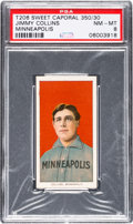 Baseball Cards:Singles (Pre-1930), 1909-11 T206 Sweet Caporal 350/30 Jimmy Collins PSA NM-MT 8 - PopTwo, None Higher. ...