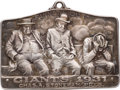 Baseball Collectibles:Others, 1931 New York Giants Silver Season Pass....
