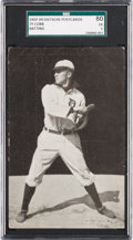 Baseball Cards:Singles (Pre-1930), 1907-09 PC765-1 Dietsche Ty Cobb (Batting) SGC 60 EX 5....