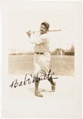Baseball Collectibles:Photos, Early 1930's Babe Ruth Signed Photograph, PSA/DNA Mint 9....