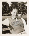 Autographs:Photos, 1950's Bobby Jones Signed Photograph, PSA/DNA NM-MT 8. ...