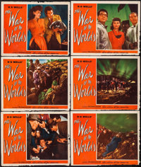 """The War of the Worlds (Paramount, 1953). Lobby Cards (6) (11"""" X 14""""). Science Fiction. ... (Total: 6 Items)"""