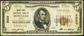 National Bank Notes:Hawaii, Honolulu, HI - $5 1929 Ty. 1 Bishop First NB Ch. # 5550. ...