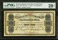 Canadian Currency: , St. John's, NF- Newfoundland Government Cash Note 80¢ 1905 Ch. #NF-4e. . ...