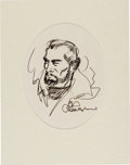 Original Comic Art:Sketches, Al Williamson - Flash Gordon's Dr. Hans Zarkov - Sketch Original Art (c. 1990)....