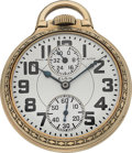 Timepieces:Pocket (post 1900), Elgin 23 Jewel B.W. Raymond Wind Indicator. ...