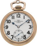 Timepieces:Pocket (post 1900), Ball Watch Co. 23 Jewel Official Standard. ...