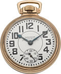Timepieces:Pocket (post 1900), Waltham 23 Jewel Vanguard With Locomotive Case. ...