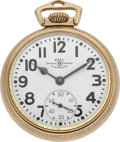 Timepieces:Pocket (post 1900), Ball Watch Co. 999B Official Railroad Standard. ...