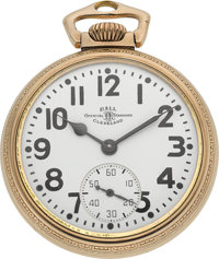 Ball Watch Co. 999B Official Railroad Standard