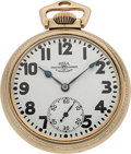Timepieces:Pocket (post 1900), Ball Watch Co. Hamilton 21 Jewel Official Standard. ...