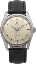 Timepieces:Wristwatch, Omega Ref. 2869 1 SC Steel Automatic Seamaster, circa 1954 . ...