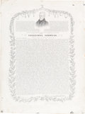 Political:Small Paper (pre-1896), Andrew Jackson: Printed Inaugural Address....